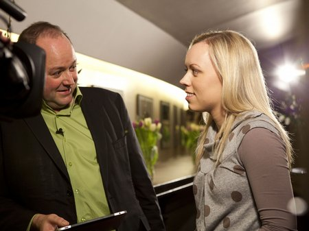 Tim Lihoreau and Tine Thing Helseth