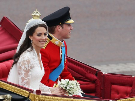 Royal Wedding Day Duke and Duchess of Cambridge