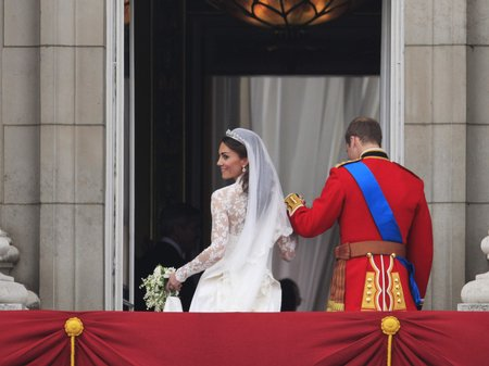 William And Kate On The Balcony Classic Fm
