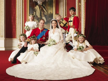 Royal Wedding - Official Portraits
