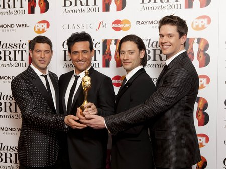 Classic BRITs 2011 Red carpet