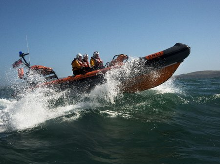 RNLI Baltimore rescue boat