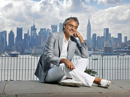 Andrea Bocelli in New York