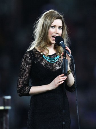 Hayley Westenra at the Rugby World Cup