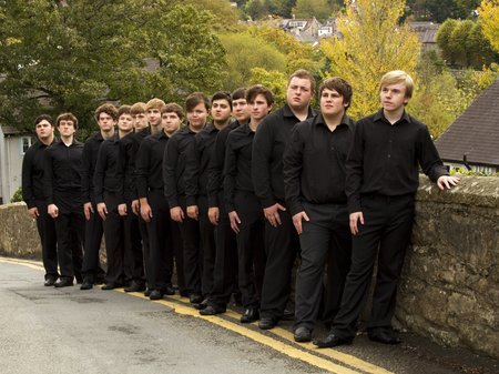 Ysgol Dinas Bran Male Ensemble