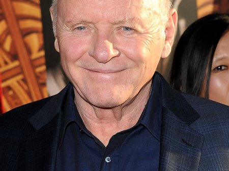 Anthony Hopkins attends the film premiere of Thor