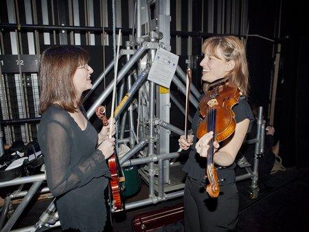 Classic FM Live Wales Backstage