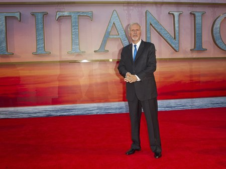 James Cameron Titanic 3D World Premiere