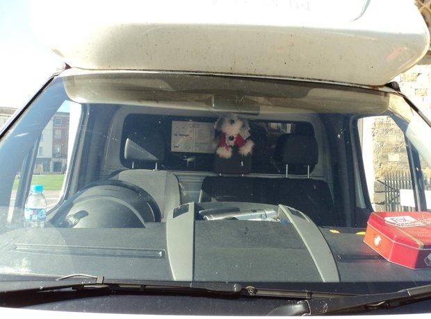 Bach hitching a ride!