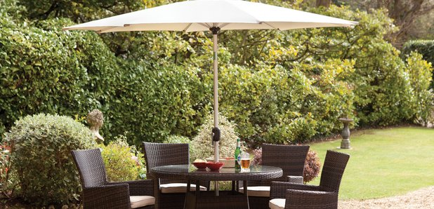 win a luxury garden table chairs classic fm - Furniture Village Garden Furniture