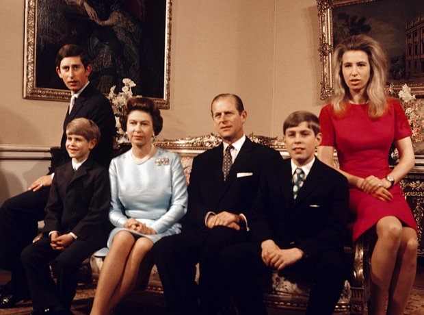 Royal Family in 1972