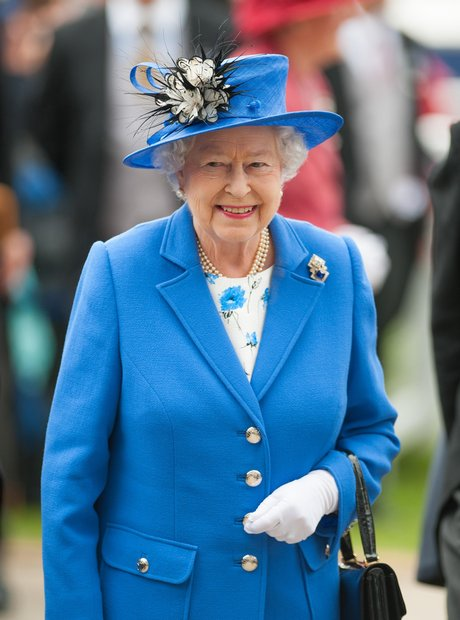 The Queen arrives at the Epsom Derby for the Diamo