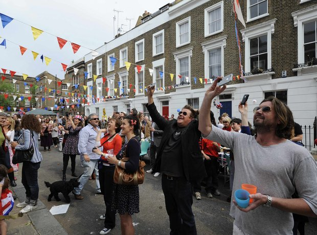 Street Party in Primrose Hill