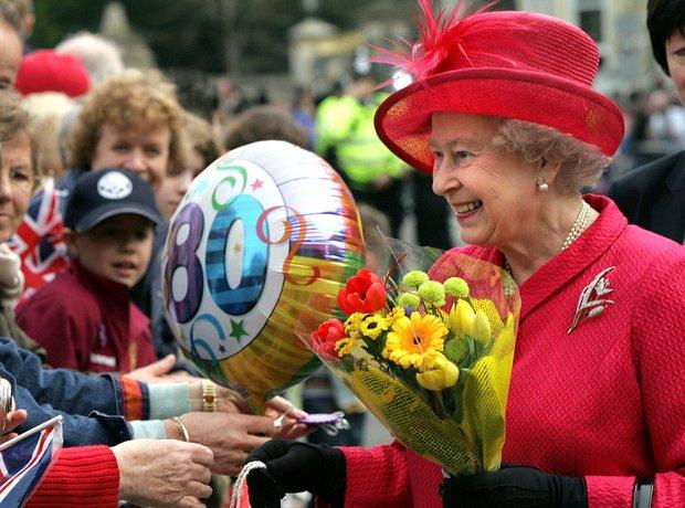 День рождения королевы англии праздник