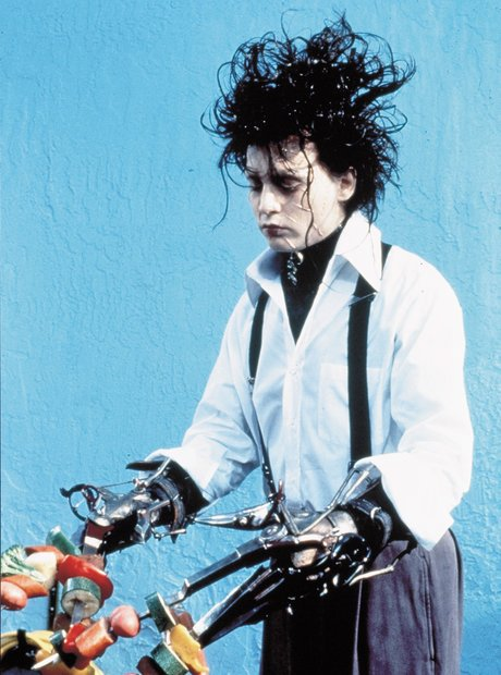 Edward Scissorhands Johnny Depp Tim Burton Danny Elfman