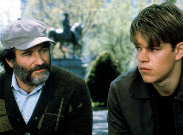 Good Will Hunting Matt Damon Ben Affleck