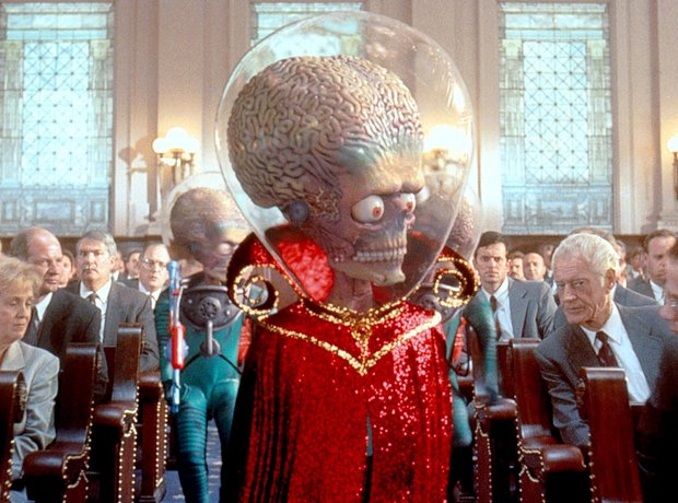 Mars Attacks Tim Burton Danny Elfman