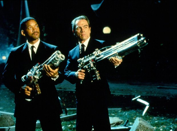 Men in Black Will Smith Tommy Lee Jones Danny Elfman