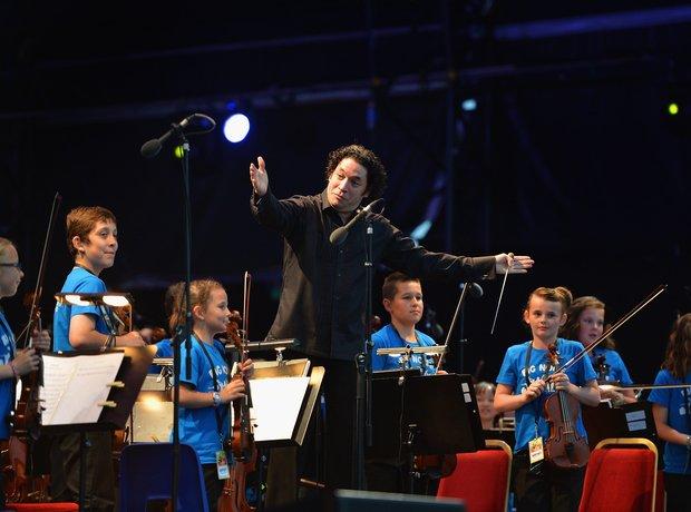 Gustavo Dudamel and The Simón Bolívar Symphony Orc