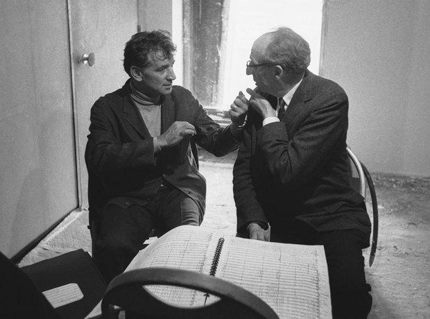 Leonard Bernstein and Copland