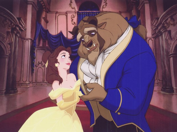 Beauty and the Beast Disney Mencken Ashman
