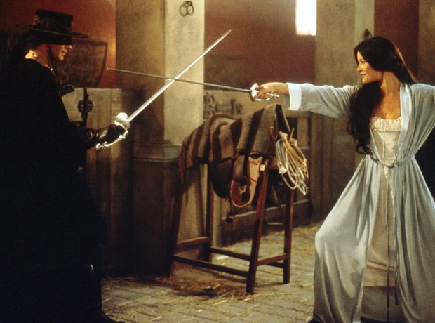 Filmstill The Mask of Zorro