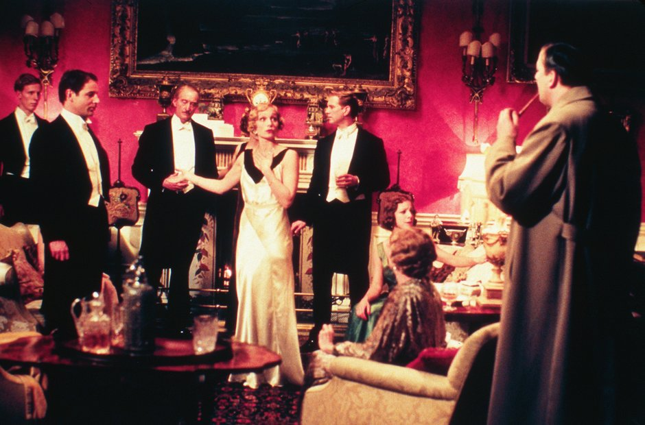 Gosford Park Doyle Maggie Smith Robert Altman