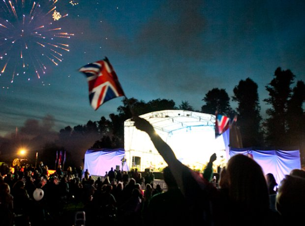 Battle Proms at Hatfield House, Hertfordshire Satu
