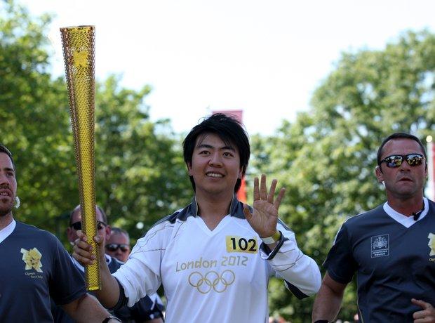 Lang Lang Olympic Torch