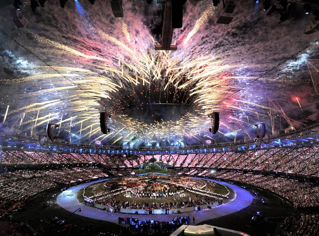 Olympic Opening Ceremony fireworks