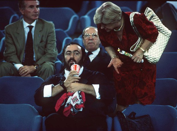 Pavarotti at the World Cup