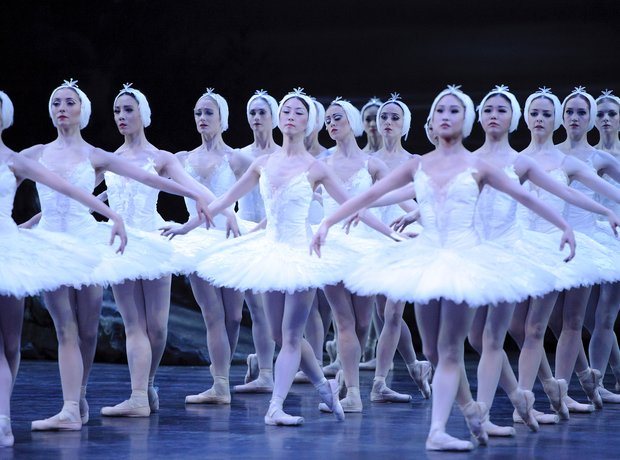 Swan Lake at the Coliseum - London