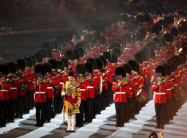 British Military Band at the Olympics London 2012