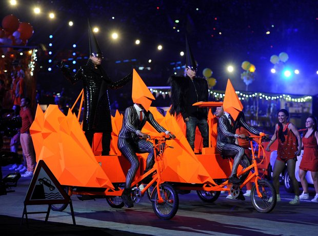 Pet Shop Boys Olympic Closing Ceremony