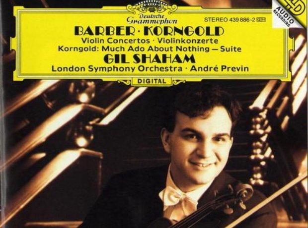 Barber/Korngold - Violin Concertos album cover