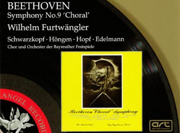 Beethoven - Symphony No. 9 (Bayreuth Festival Orch album cover