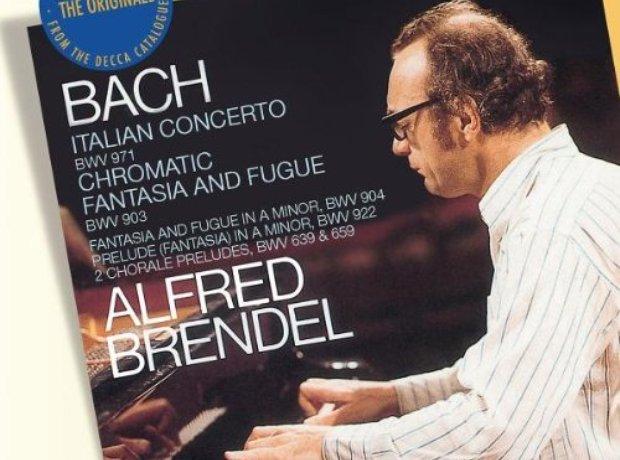 J.S. Bach - Italian Concerto (Alfred Brendel) album cover