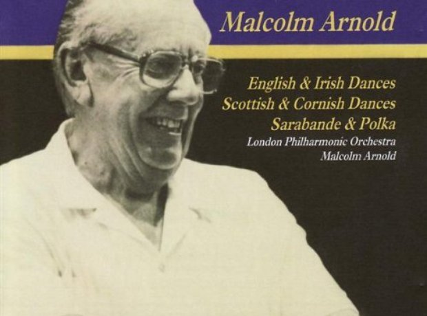 Malcolm Arnold dances album cover