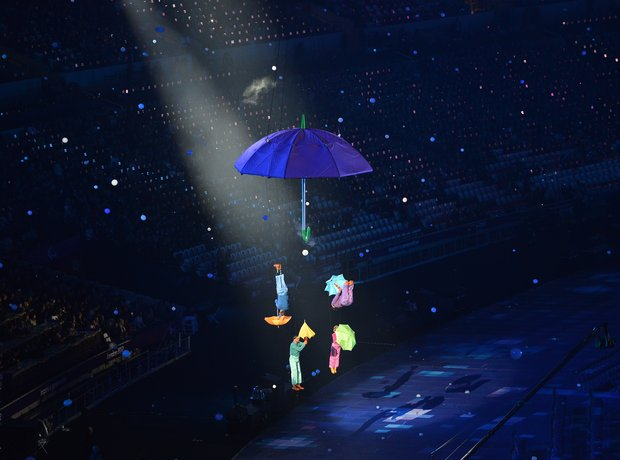 Paralympic opening ceremony umbrella