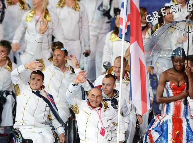 The 2012 Paralympics Opening Ceremony, Paralympics