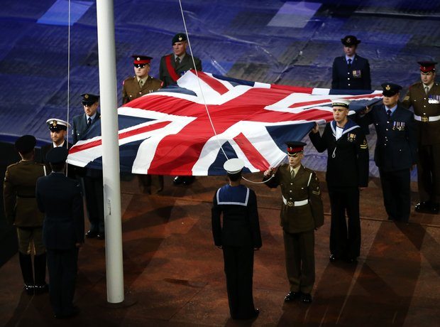 The 2012 Paralympics Opening Ceremony, Union Jack