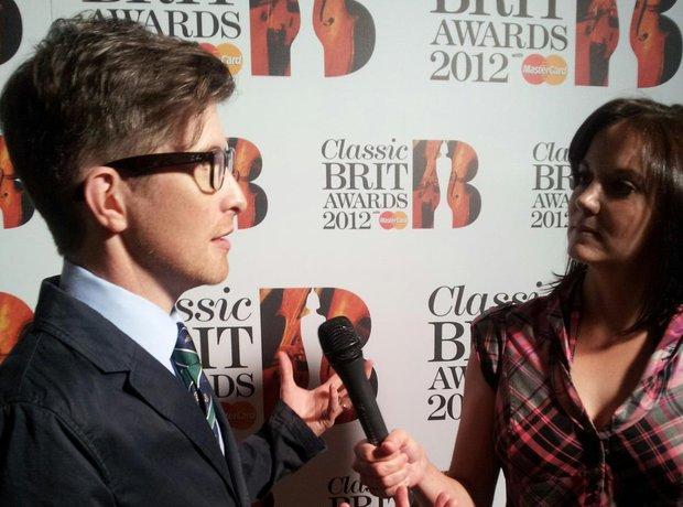 gareth malone classic brits 2012