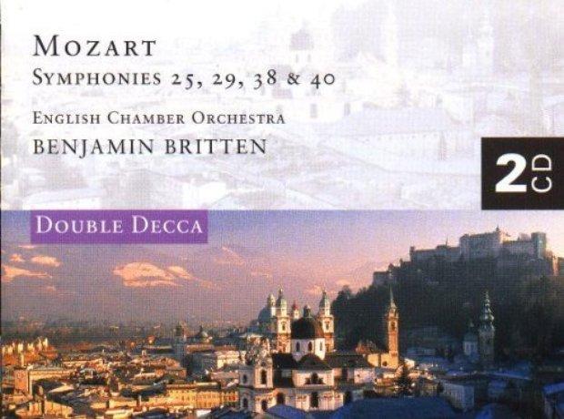 Mozart - Symphonies Nos. 25 & 29/Serenata Notturna