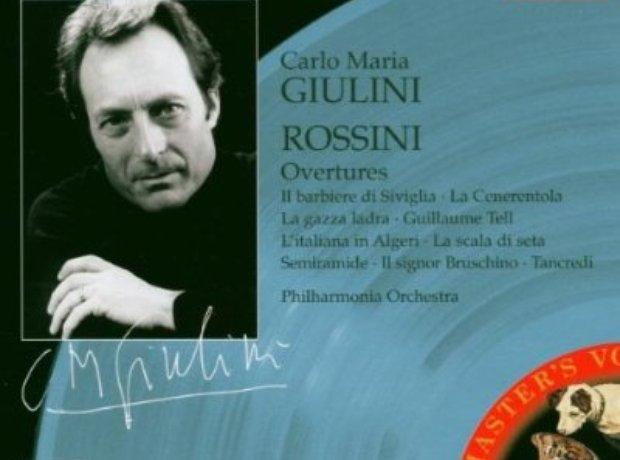 Rossini - Overtures (Philharmonia Orchestra/Carlo