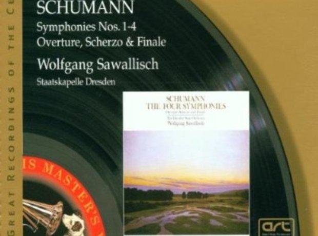 Schumann - Symphonies (Staatskapelle Dresden/Wolfg