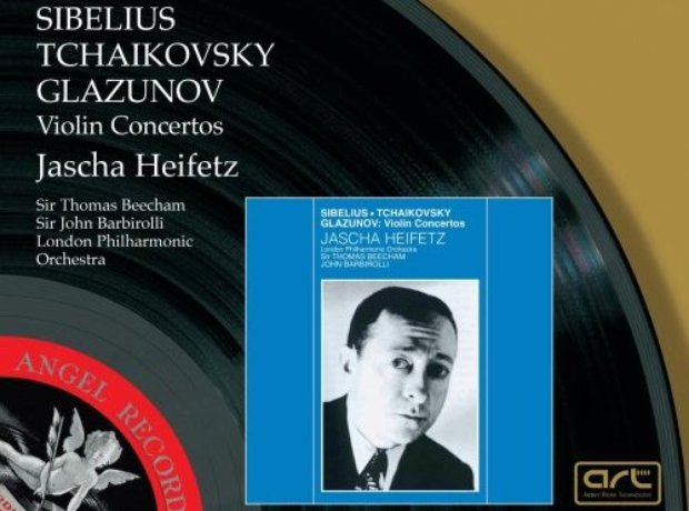 Tchaikovsky / Sibelius / Glazunov - Violin Concert