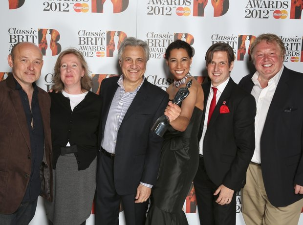 The Classic FM team with their BRIT
