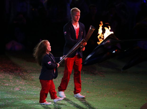 Eleanor Simmonds and Jonnie Peacock Paralympics Cl