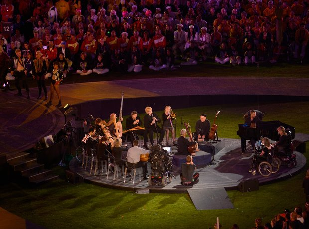 The British Paraorchestra Paralympics Closing Cere