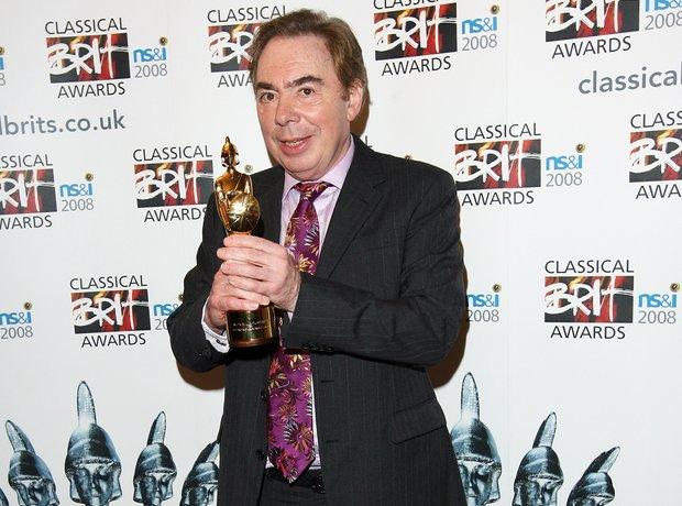 Andrew Lloyd Webber classic brits 2008
